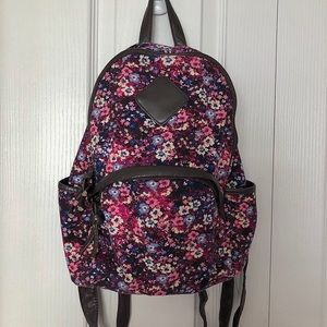Claire's Pink Floral Backpack